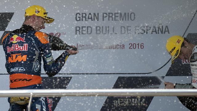 Brad Binder, la remontada del año: Salir último y ganar el GP de España
