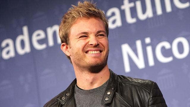 Großer Empfang für Rosberg: Weltmeister besucht Heimatstadt