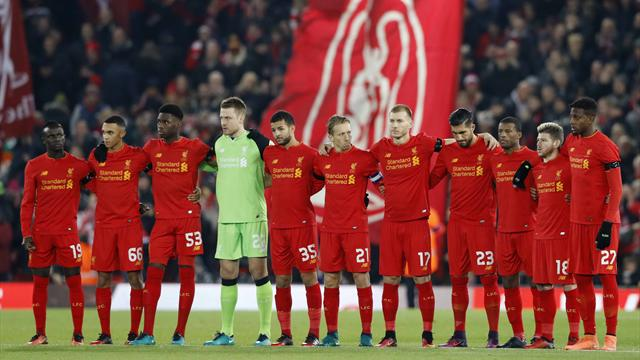Le magnifique hommage d'Anfield à Chapecoense