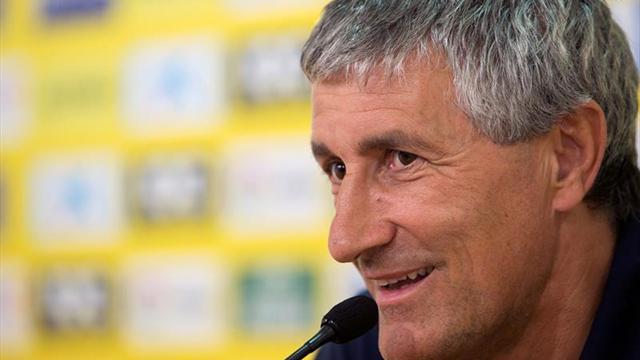 """Setién dice que sería """"una sorpresa"""" resolver la eliminatoria en El Alcoraz"""