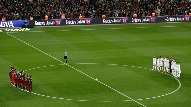 Clásico: Barça und Real gedenken den Opfern des Flugzeugabsturzes