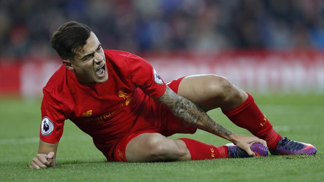 Coutinho's absence could be the making of Liverpool's title challenge