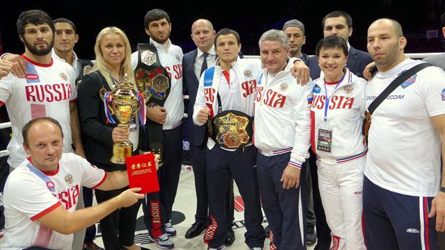 Федор Емельяненко: «Все победители чемпионата мира достойно представили нашу страну»