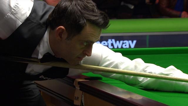 'What a shot!' - Ronnie O'Sullivan lands wonderful snooker