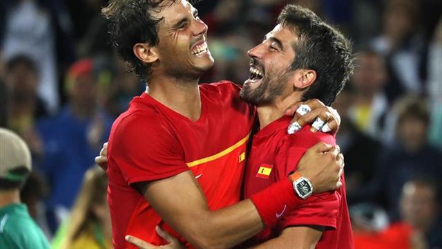 Rafa Nadal y Marc López jugarán en dobles en los Campeonatos de España