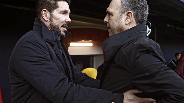 LaLiga denuncia cánticos de aficionados de Osasuna al Atlético de Madrid