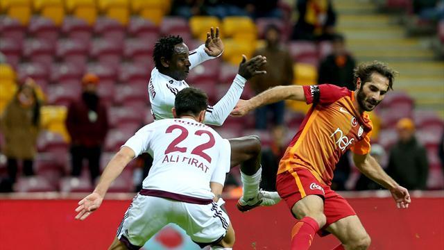 Galatasaray puanı son dakikada kaptırdı