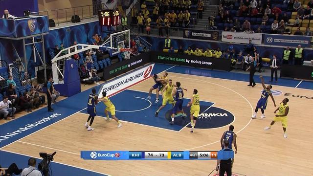 EuroCup: Alba verliert nach langem Kampf gegen Chimki