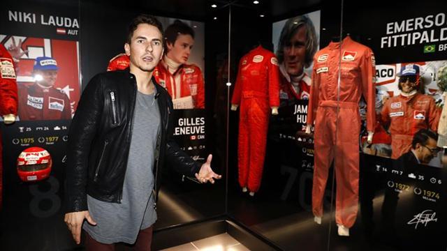 Jorge Lorenzo inaugura su museo dedicado a campeones de Fórmula 1 y MotoGP