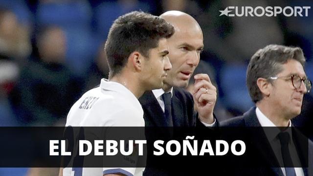 El mágico debut (y con gol) de Enzo Zidane con el primer equipo del Real Madrid