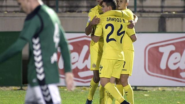 0-3. Tres fogonazos del Villarreal sentencian a un Toledo voluntarioso