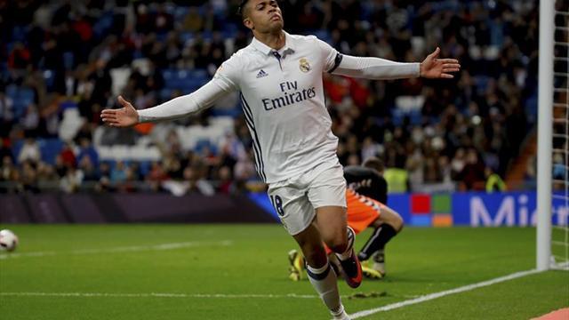 """6-1. El """"Real Madrid B"""" engrasa la maquinaria blanca antes del clásico"""
