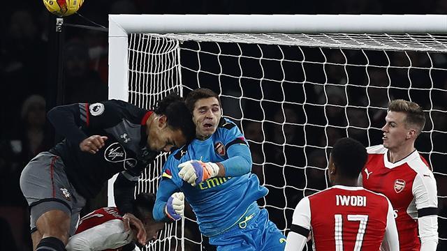 Southampton vainqueur d'Arsenal par K.-O.