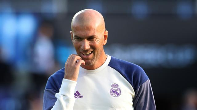 Zinedine Zidane proud after son Enzo makes scoring debut for Real Madrid