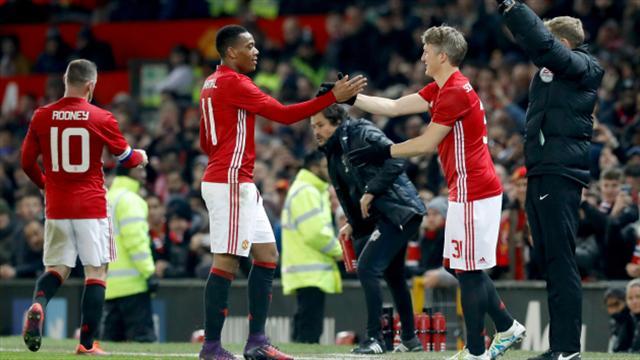 Bastian Schweinsteiger makes first Man United appearance under Jose Mourinho
