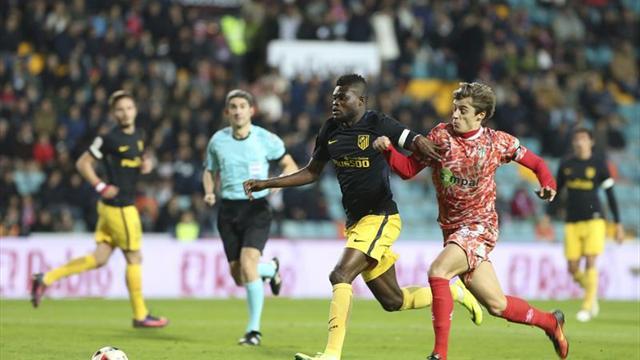 0-6. El Atlético de Madrid se da un festín de goles en el Helmántico ante el Guijuelo