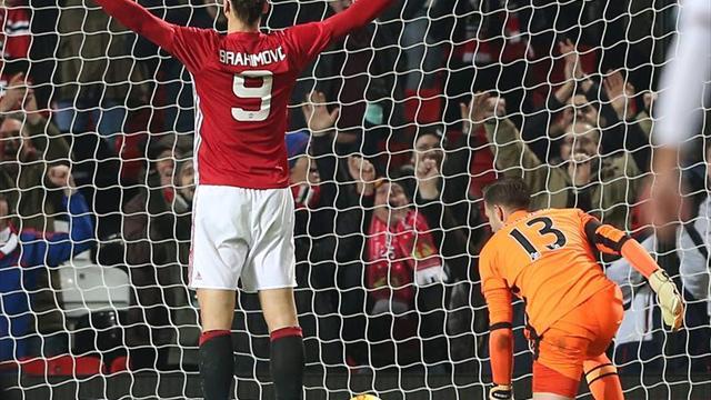 El Southampton apea al Arsenal y Martial e Ibra meten al United en 'semis'