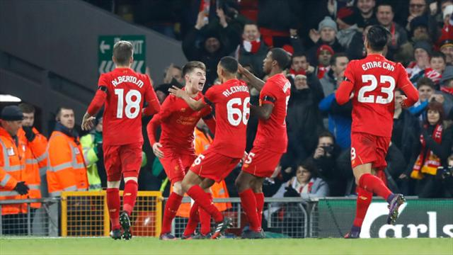 Liverpool and Manchester United kept apart in EFL Cup semi-final draw