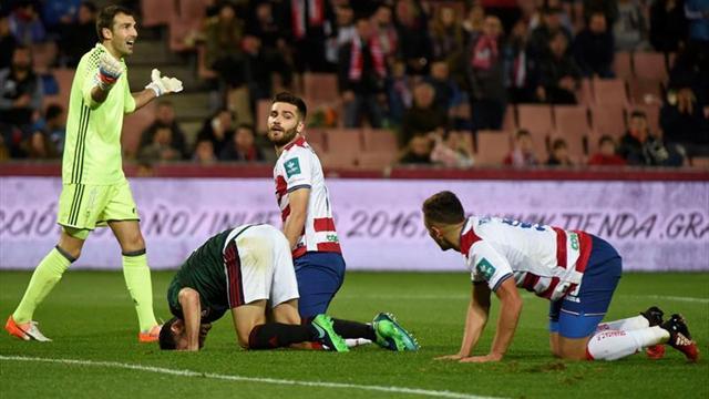 1-0. El Granada se adelanta en una eliminatoria que pudo dejar casi liquidada