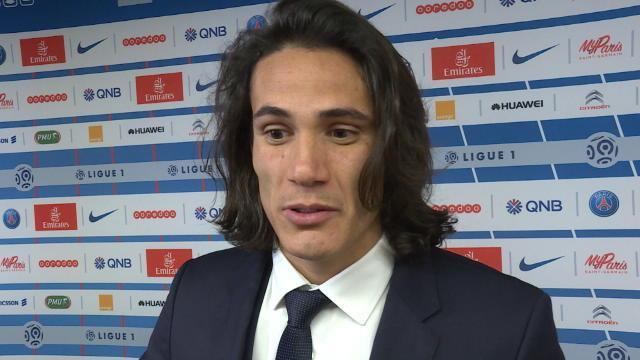 """100 buts avec le PSG ? Cavani est """"heureux"""""""