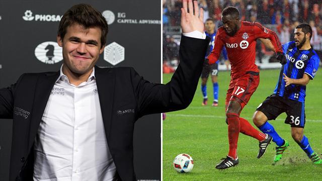 FRÜHSTÜCK: Carlsen erneut Schach-Weltmeister, Toronto im MLS-Cup-Finale