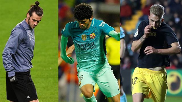 Bale, Aleñá y Róber, los nombres del día