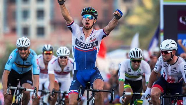 """Sagan supera a Froome y Quintana como ciclista del año para """"Vélo"""""""