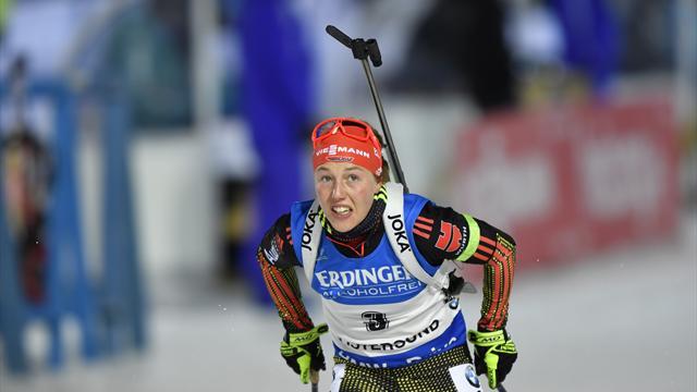 Laura Dahlmeier: Keine vier Jahre von der Juniorin bis zur Weltcup-Führung