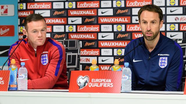 Southgate stellt klar: Rooney bleibt England-Kapitän
