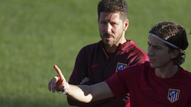 Filipe se entrena con el grupo y podría volver al once ante el Espanyol