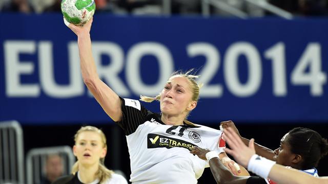 Handball-Frauen mit neuem Trikotsponsor zur EM