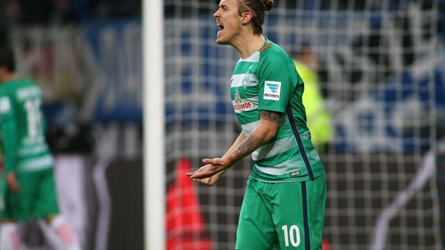 Fragezeichen hinter Kruse-Einsatz bei Werder Bremen