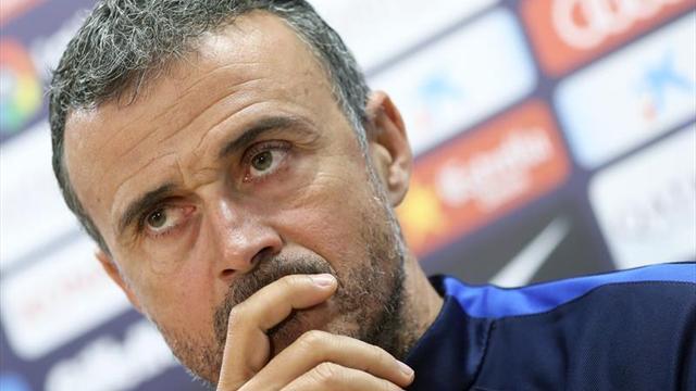 Luis Enrique, a por la tercera victoria en su quinto clásico como entrenador