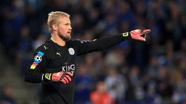 Leicester boss Claudio Ranieri hoping Kasper Schmeichel returns before Christmas
