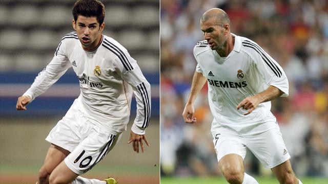 """De Cruyff à Zidane en passant par Maldini, difficile de se faire une place pour les """"fils de"""""""