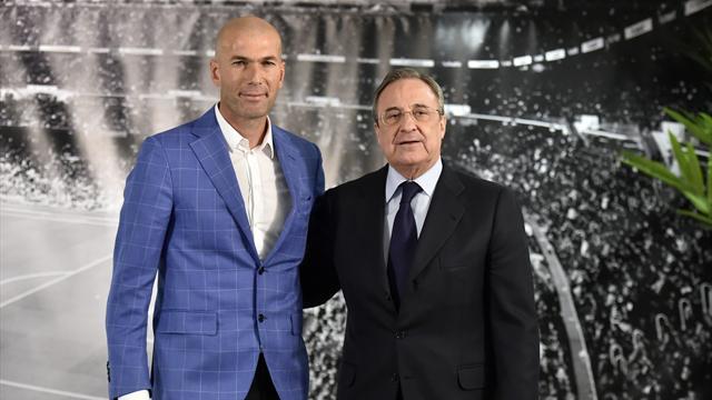 Zidane et le Real, «une histoire d'amour, belle et éternelle»
