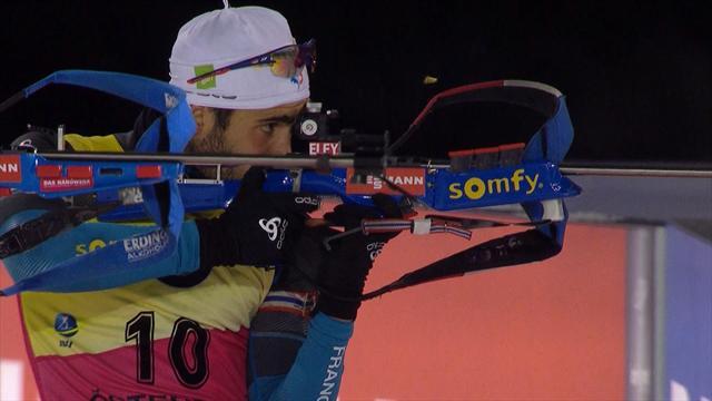 Biathlon: Fourcade sezonu zaferle açtı