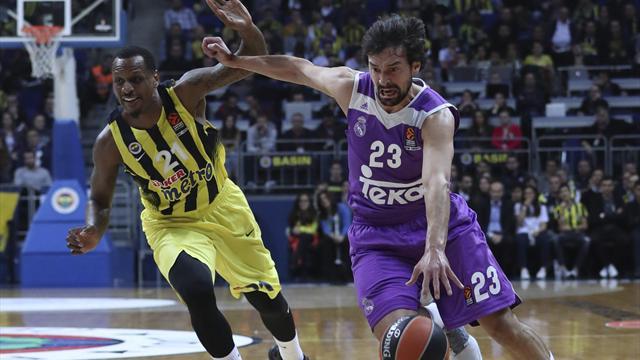 Euroliga, Fenerbahçe-Real Madrid: Suspiro turco con polémica (78-77)