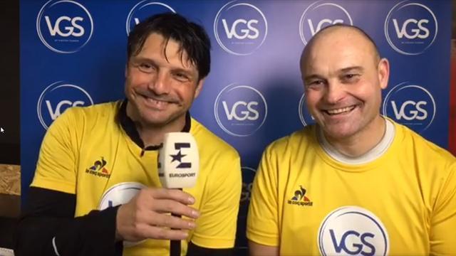 Revivez le live Facebook de Vincent Guérin depuis le Tournoi des Légendes