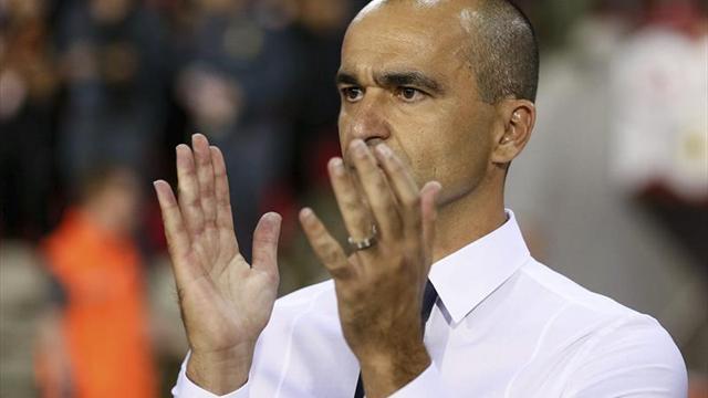 """Roberto Martínez: """"Carrasco tiene capacidad mental para progresar más"""""""