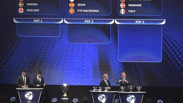 España jugará contra Macedonia, Portugal y Serbia, en fase final de la Eurocopa sub'21