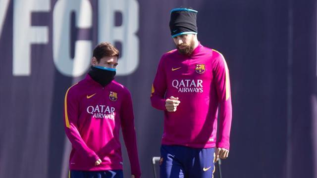 """Piqué: """"Leo Messi no sólo es el mejor del mundo sino de la historia"""""""