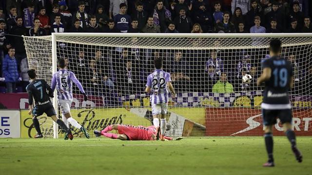 1-3. La Real Sociedad resuelve en el regreso de Eusebio a Valladolid