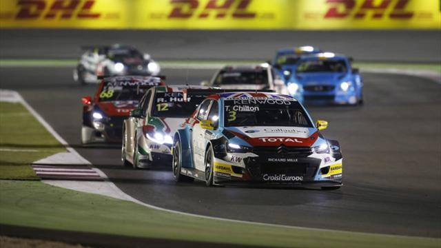 Battle for second was pure class, says WTCC's Chilton