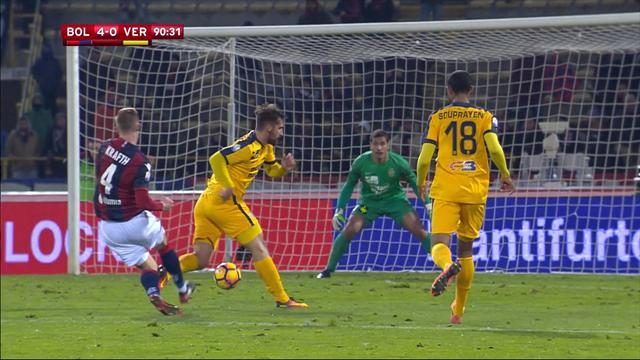 Le doublé de Mounier envoie Bologne en 8e de finale : le résumé en vidéo