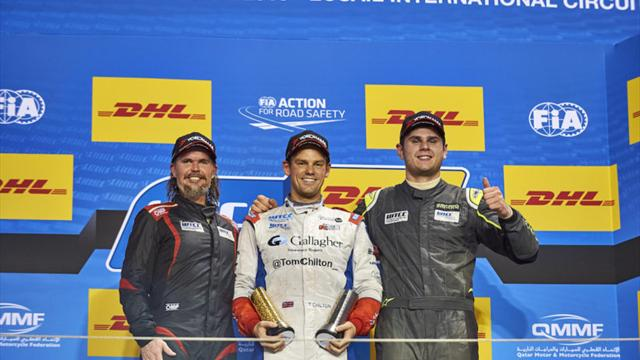 Thompson ends 2016 on a high with WTCC Trophy podium double