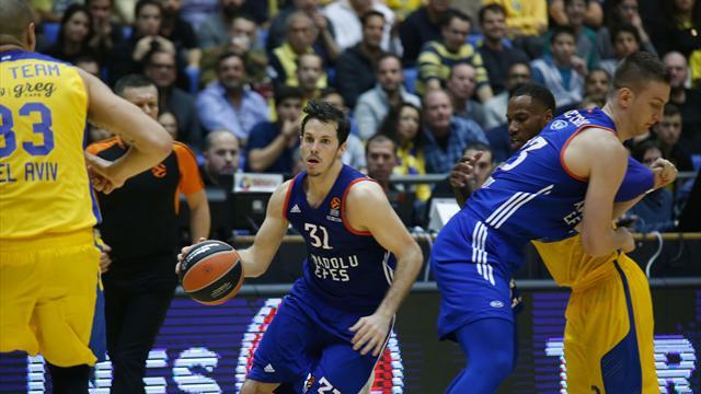 Maccabi'nin serisini Efes bitirdi
