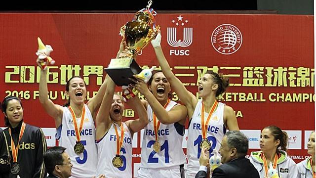 Mundial Universitario de Baloncesto 3x3: Éxito arrollador de Francia en Xiamen