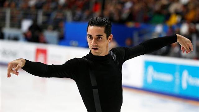 Javier Fernández, esperanzado de obtener buenos resultados en la temporada
