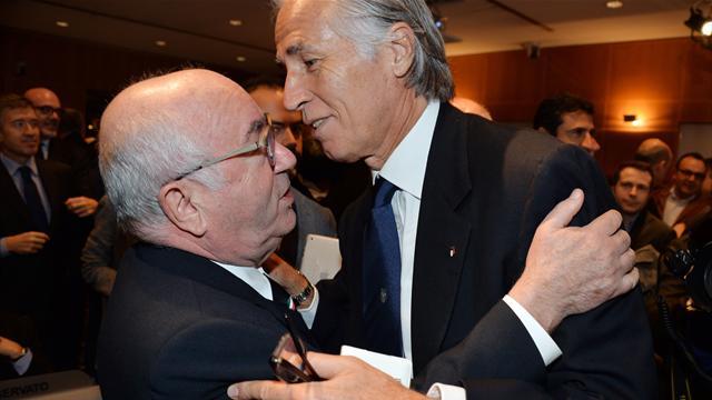 """Malagò: """"Se fossi Tavecchio mi dimetterei, non posso commissariare la FIGC"""""""